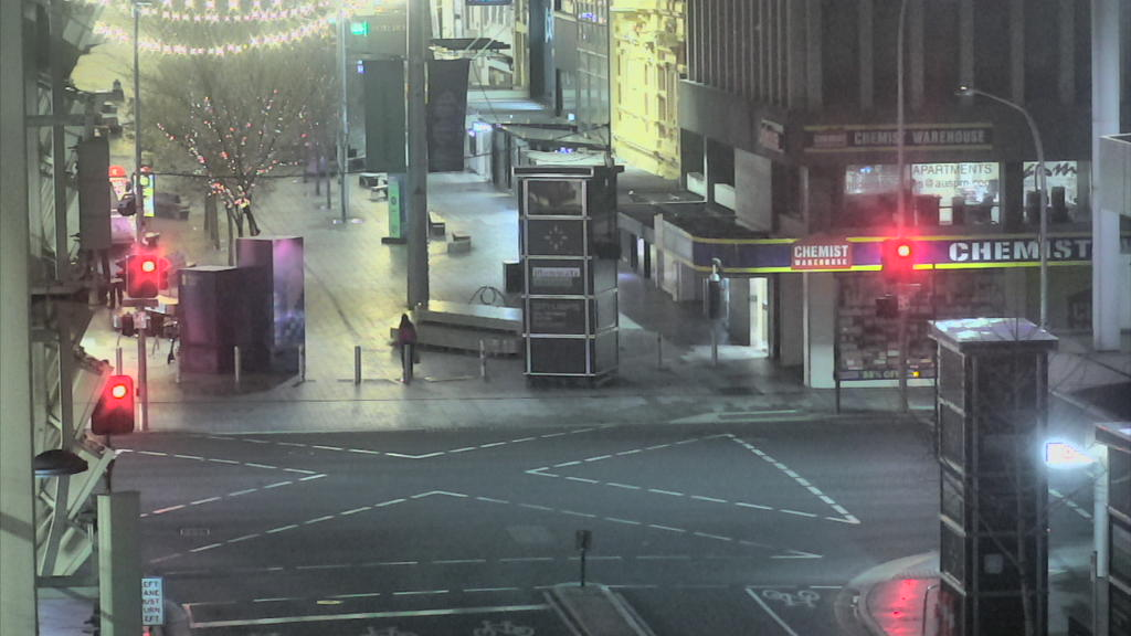 Rundle Street Projector